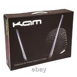 Kam Kwm1920 Dual Uhf Microphone Sans Fil Sans Fil Karaoke Dj Multi Channel