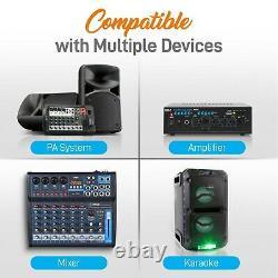 Kit De Microphone Sans Fil Uhf, MIC Portatif, MIC Casque, Lavalier