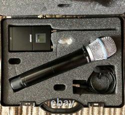Kit Microphone Sans Fil Shure Ur1 Tx Avec MIC Et Ur2/beta87a Hh Tx Dans Le Cas, J5