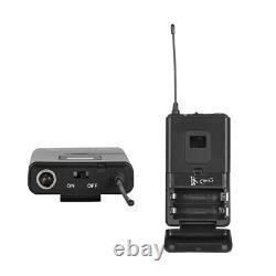 Microphone Audio Sans Fil 8 Channel Pro Uhf 4 Portable 4 Casque Lavalier