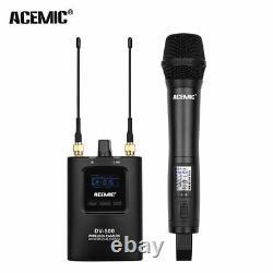 Microphone Portable Sans Fil Uhf MIC System Pour Caméra Dslr Camcorder Vidéo DV