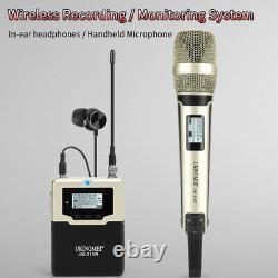 Microphone Portable Sans Fil Uhf MIC System Pour Canon Nikon Dslr Caméra Vidéo DV