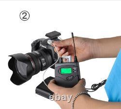 Microphone Portatif Sans Fil Uhf Lavalier MIC Pour Caméra Dslr Camcorder Vidéo DV