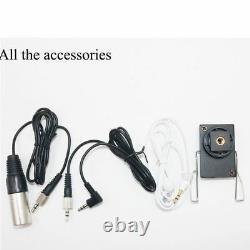 Microphone Portatif Uhf Sans Fil Professionnel Pour Appareil Photo Dslr Caméscope Vidéo DV