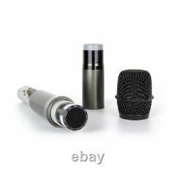 Microphone Sans Fil Uhf Pro Audio 4 Channel 2 Casque Portable 2 Bodypack