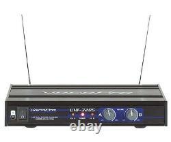 Microphone Sans Fil Vocopro Uhf-3205 Uhf Double Recharge (avec 900mhz)