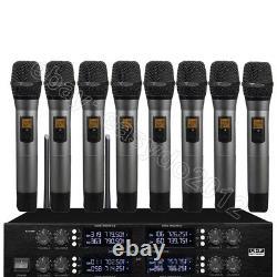 Micwl 400 Channel 8 Système De Microphone Numérique Sans Fil Portatif Uhf (marque Nouvelle)
