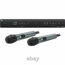 Nouveau Sennheiser Xsw 1-835 Ensemble Double Vocal Avec Deux Micros Portables E835