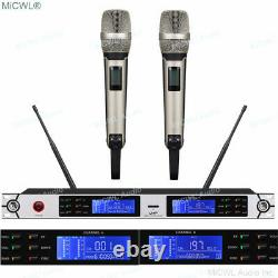 Pro 200 Channel Sans Fil Skm9000 Microphone Portatif Ur4 Système De Karaoké Numérique