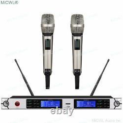 Pro Dual Handheld Wireless Skm 9000 G3 Microphone System Skm9000 Champagne MIC