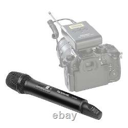 Saramonic Sr-hm15 Microphone Sans Fil Uhf 16 Canaux Pour Uwmic15