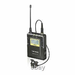 Saramonic Uwmic9 Uhf Sans Fil Lavalier + Système De Microphone Portatif Tx/tx/rx
