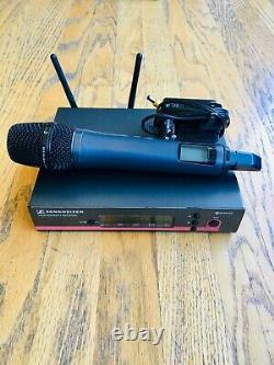 Sennheiser Ew 100 G3 Microphone Sans Fil Portatif En Bon État