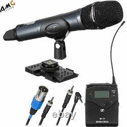 Sennheiser Ew 135p G4 Appareil Photo-montage Sans Fil Cardioïde Système De Microphone Portatif