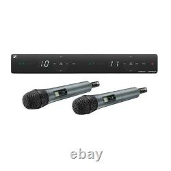 Sennheiser Xsw 1-825 Double-vocal Set With Two 825 Handheld Microphones A548-572mhz