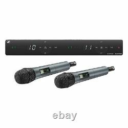 Sennheiser Xsw 1-825 Dual-vocal Set Withtwo 825 Handheld Mics (a 548 À 572 Mhz)