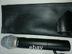 Shure Beta87a Microphone Professionnel Sans Fil Portatif