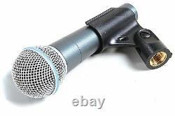 Shure Beta 58a Super-cardioid Microphone Dynamique Portatif