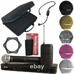 Shure Blx1288/p31 Système De Microphone Sans Fil À Double Écouteur Combo + Boîtier
