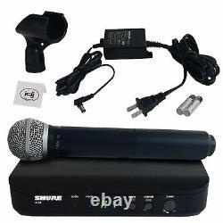 Shure Blx24/pg58 Système De Microphone Multicanal Sans Fil Portatif En Direct