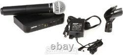 Shure Blx24/pg58 Système De Microphone Portatif Sans Fil Bande H10