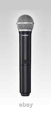 Shure Blx24/pg58 Système De Microphone Sans Fil À Main! Gamme De Fréquences Uhf H10