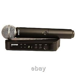 Shure Blx24/sm58 Microphone Sans Fil Portatif Multicanaux Holster Pack