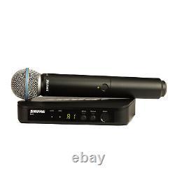 Shure Blx24/sm58 Système De Microphone Sans Fil Multicanal Portatif