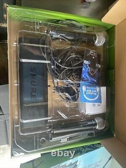 Shure Blx288/pg58 Système De Microphone Sans Fil Portatif