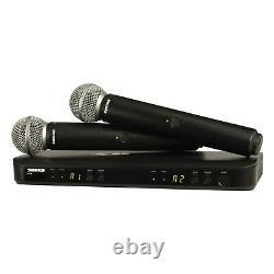 Shure Blx288/sm58 Système De Microphone Portatif Sans Fil À Double Canal
