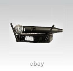 Shure Glx-d Sans Fil Sm 58 Système De Microphone Portatif Glxd24/sm58 MIC Rf Numérique