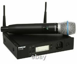 Shure Glxd24-b87a Digital 2.4ghz Wireless System With Handheld With Beta 87 MIC