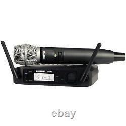 Shure Glxd24/sm86 Système De Microphone Sans Fil Portatif (bande De Fréquence Z2)