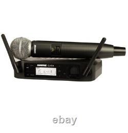 Shure Glxd24sm58 Microphone Professionnel Sans Fil Portatif Upc 0709951933121