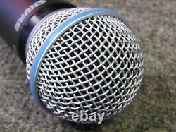 Shure Glxd2 Transmetteur Portatif Avec Beta 58a Microphone Capsule Z2