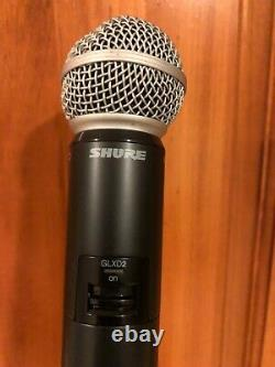 Shure Glxd Sm-58 Système Sans Fil Portatif