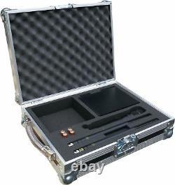 Shure Qlxd24/ksm9 Système Sans Fil Portatif Swan Flight Case (hex)