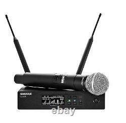 Shure Qlxd24/sm58 Système Sans Fil Portatif Avec Microphone Vocal Sm58, G50