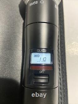 Shure Qlxd2/sm58 Microphone Portable Sans Fil G50