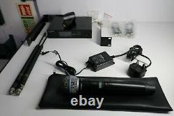 Shure Qlxd4, Qlx-d Handheld Avec Shure Beta 58 Système Concurrent