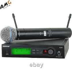 Shure Slx24/beta58 Microphone Sans Fil Portatif Système Vocal