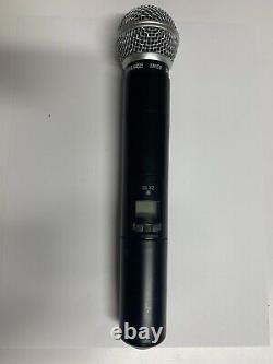 Shure Slx2/sm58 Émetteur De Microphone Portatif Sans Fil H5 Bande D'utilisation