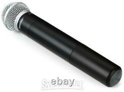 Shure Slx2/sm58 Microphone Portatif Sans Fil Bande H5