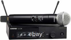 Shure Slxd24/sm58 Microphone Sans Fil Portatif (g58 470-514 Mhz)
