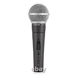 Shure Sm58 Se Cardioïde Microphone Vocal Dynamique À Main Avec Interrupteur