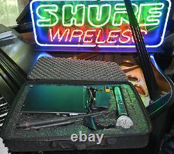 Shure Ulx24p Handheld Sm58 Microphone System Avec Boîtier J1 M1 G3