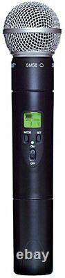 Shure Ulx2/58-g3 Microphone Sans Fil Portatif Uhf Transmetteur, 470-505 Mhz Nouveau