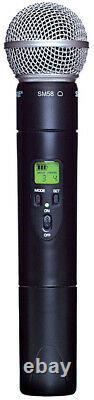 Shure Ulx2/58-j1 Transmetteur Portatif Sans Fil Sm58 Microphone Cardiooïde Nouveau