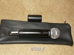 Shure Ulx2/ Sm58 Microphone Portatif Sans Fil Bande J1 / 554-590mhz