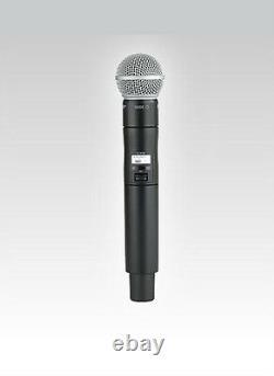 Shure Ulx-d Sans Fil Sm 58 Système De Microphone Portatif Ulxd24/sm58 Bande G50
